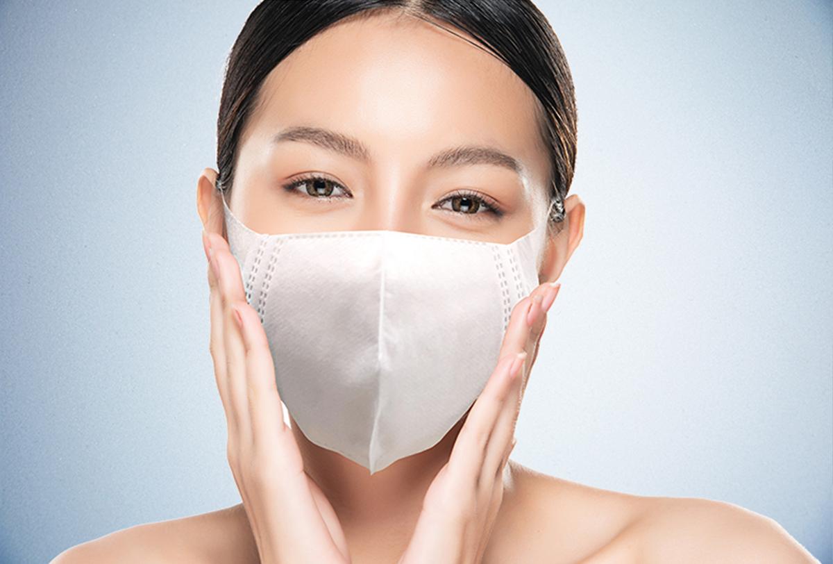 呼吸で水素吸引できる4層構造の国産マスク